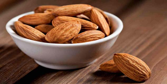 overeating of almonds can cause weight gain