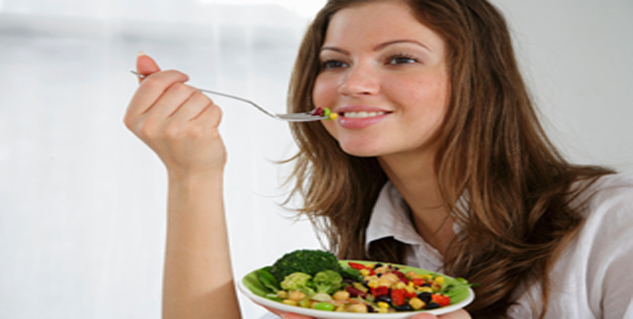Healthy diet for woman
