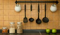Kitchen tools that keep you fit