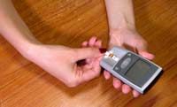 What causes hyperglycemia in diabetes