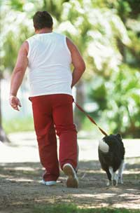 Walking helps you lose Weight