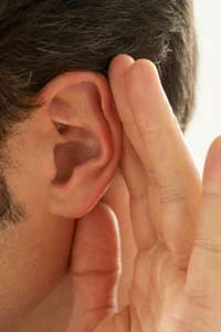 Hearing loss in ear