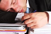 Coping with less sleep at work