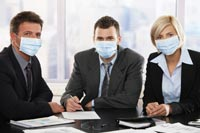 Office health and swine flu