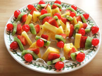 Fruity Kebabs