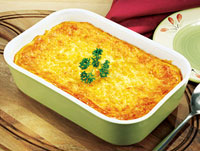 Corn Cheese Pudding
