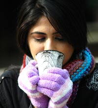 Cold weather aggravates risk of angina